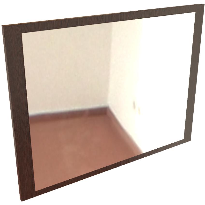 Фарамант - Зеркало настенное Т-601 дуб венге