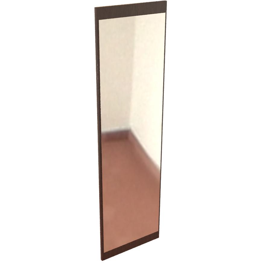 Фарамант - Зеркало  для прихожей Т-602 дуб венге