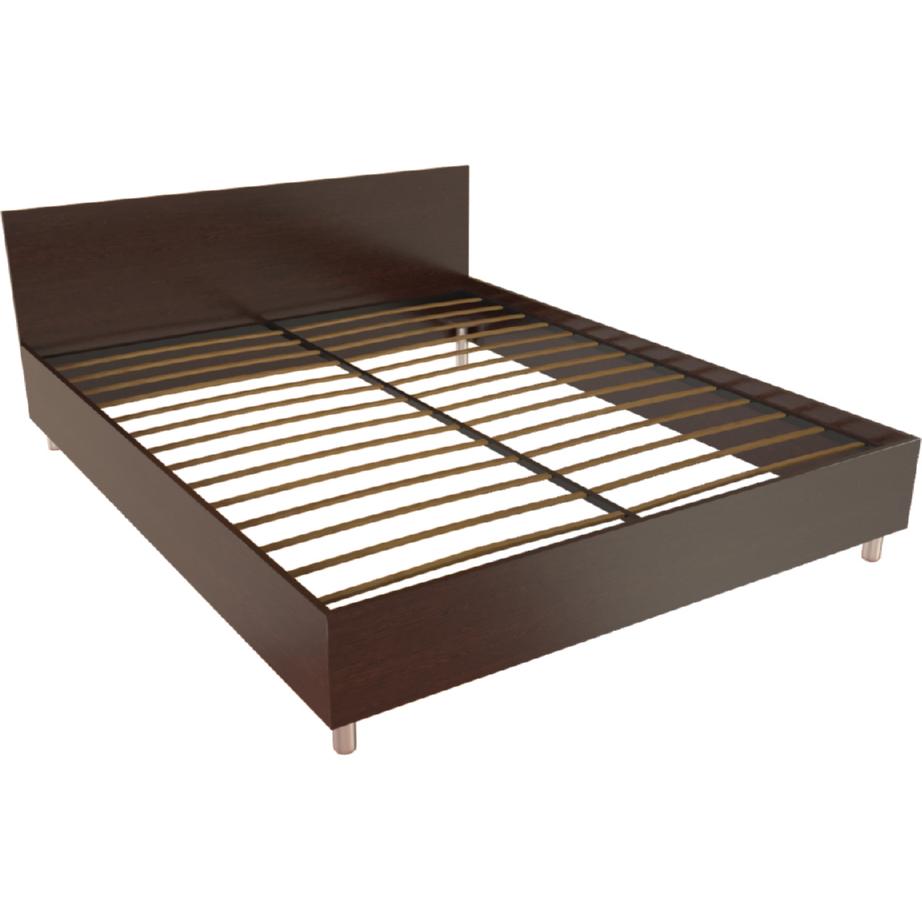 Фарамант - Кровать двуспальная Т-403  дуб венге