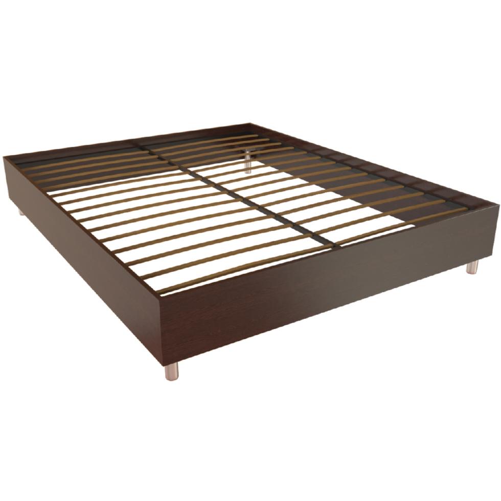 Фарамант - Кровать двуспальная Т-404 дуб венге