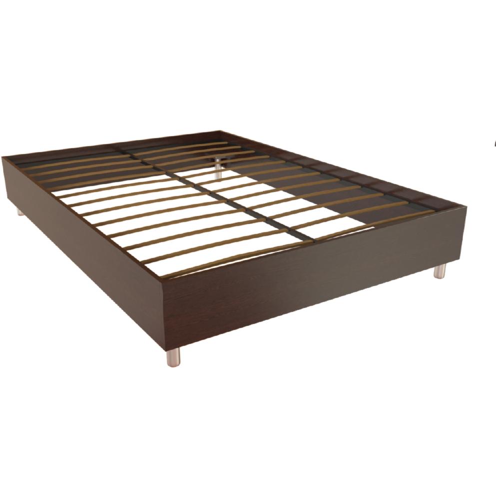 Фарамант - Кровать двуспальная Т-406 дуб венге