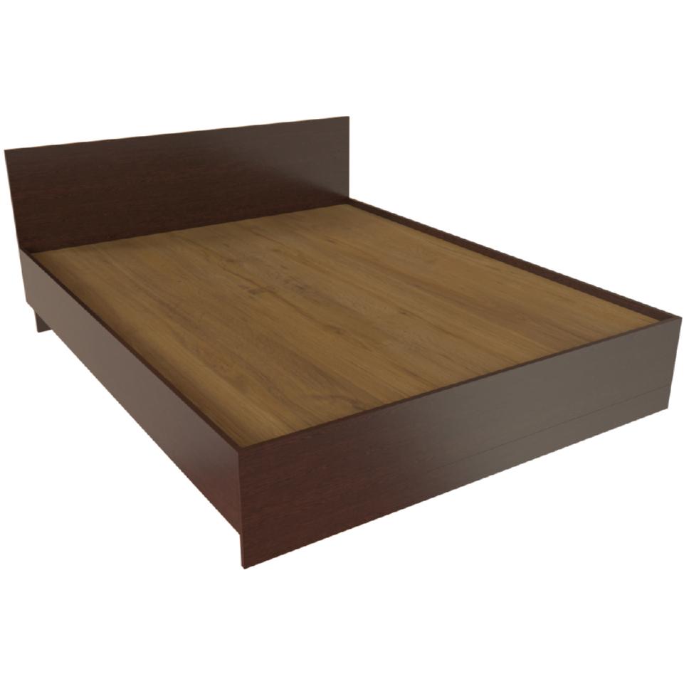 Фарамант - Кровать двуспальная Т-413 дуб венге