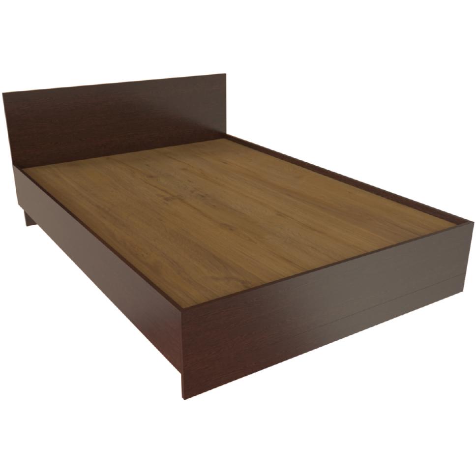 Фарамант - Кровать двуспальная Т-415 дуб венге