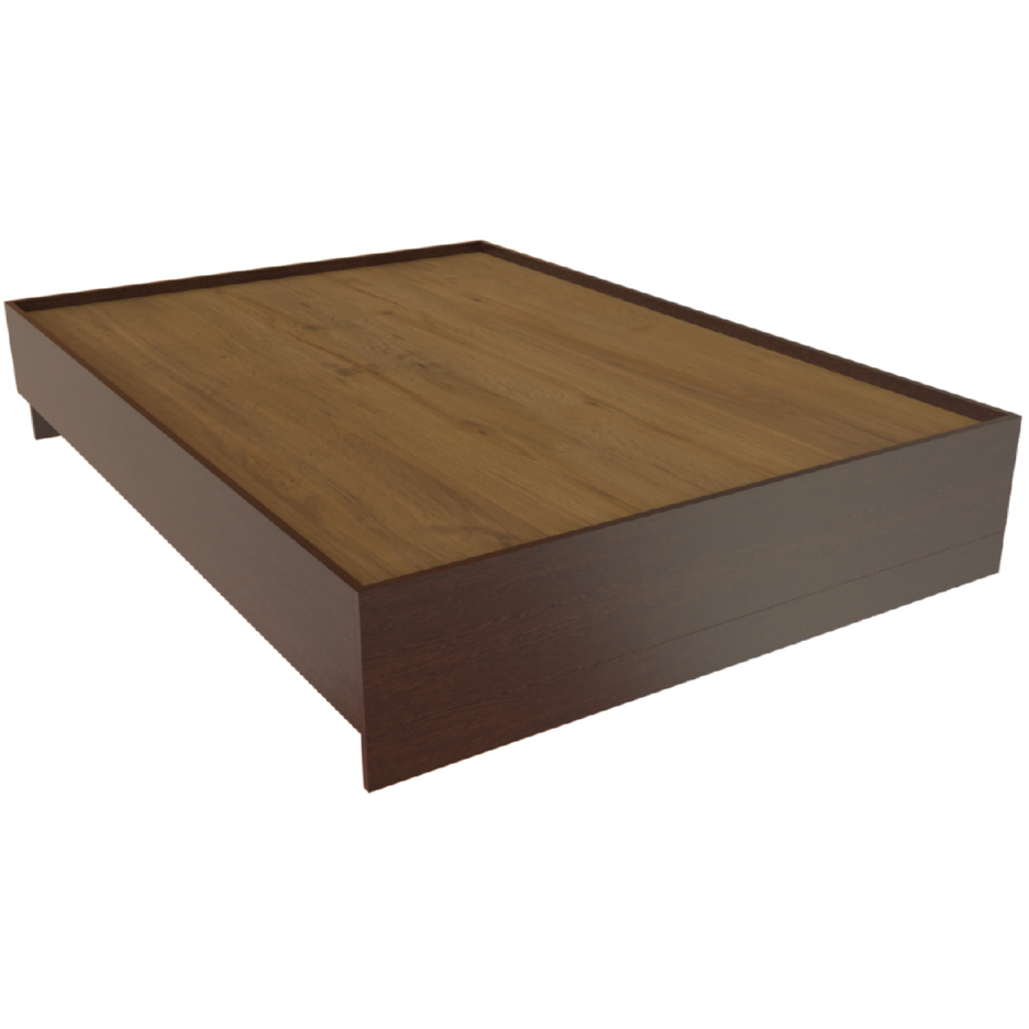 Фарамант - Кровать двуспальная Т-416 дуб венге