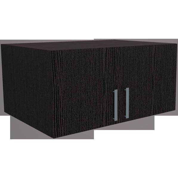 Фарамант - Антресоль для двухстворчатого шкафа АС-32 дуб венге