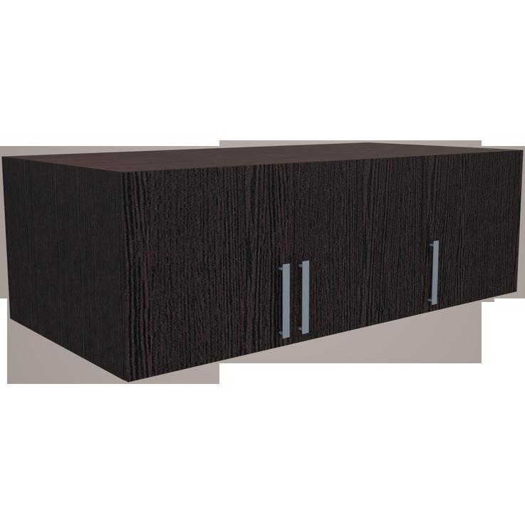Фарамант - Антресоль для трехстворчатого шкафа АС-33 дуб венге
