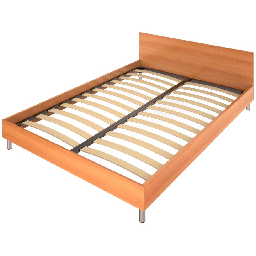 Фарамант - Кровать двуспальная АС-52 миланский орех