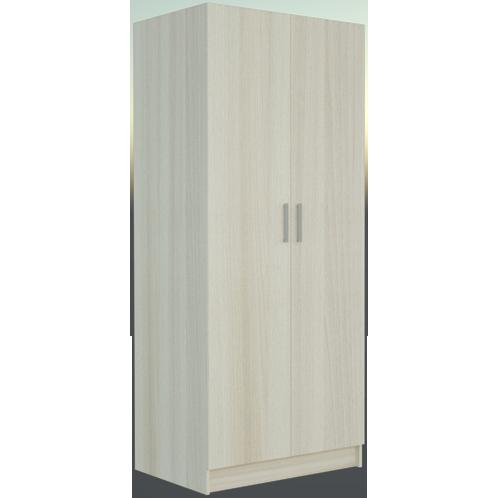 Фарамант - Шкаф комбинированный двухстворчатый АС-22 ясень шимо