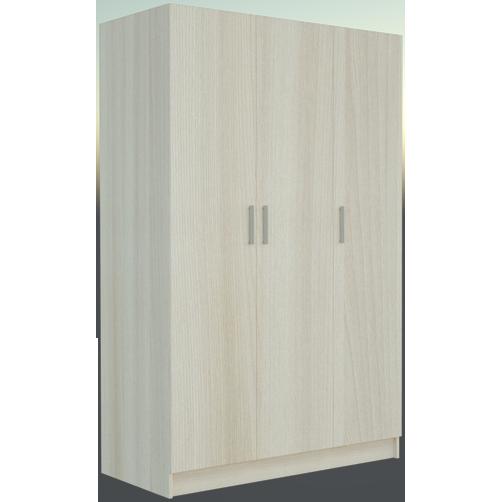 Фарамант - Шкаф комбинированный трёхстворчатый АС-23 ясень шимо