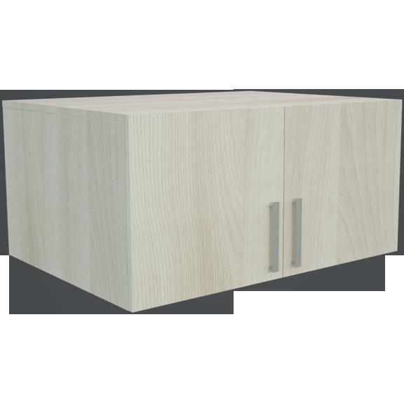 Фарамант - Антресоль для двухстворчатого шкафа АС-32 ясень шимо