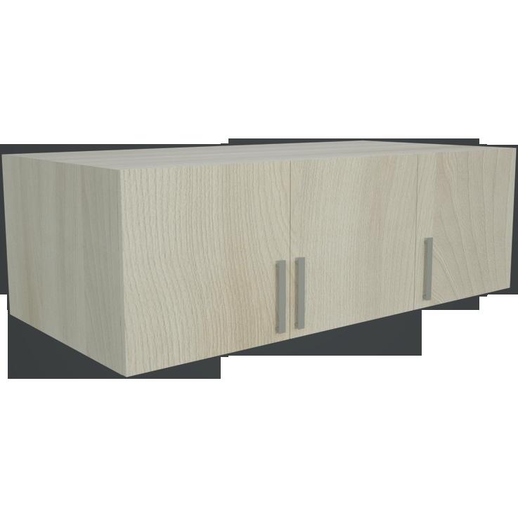 Фарамант - Антресоль для трехстворчатого шкафа АС-33 ясень шимо